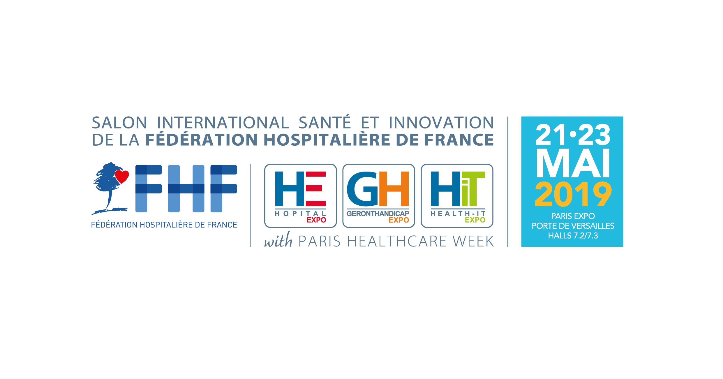 Save the date les 21, 22 et 23 mai 2019 Exhausmed sera présent à Paris Healthcare Week au stand K73/HEALTH-ITEXPO - Paris Expo Porte de Versailles.